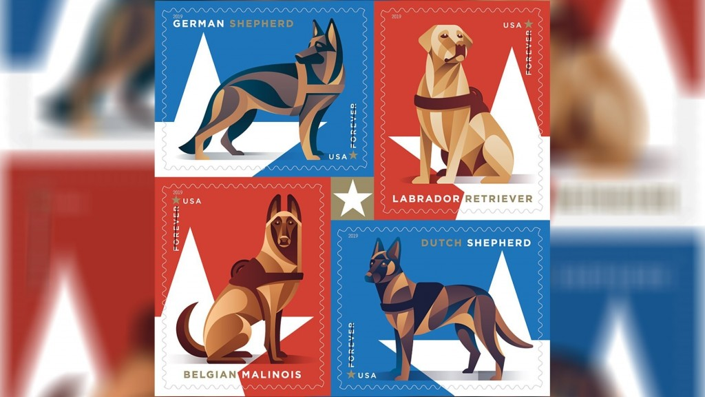 USPS honoring military dogs with 2019 stamp collection