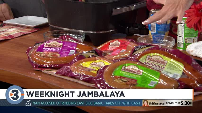 'Cooking Mom' shares weeknight jambalaya recipe