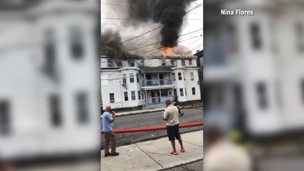 1 dead, several injured after gas explosions in Massachusetts