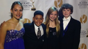 Area teens win regional Emmy for outdoors show