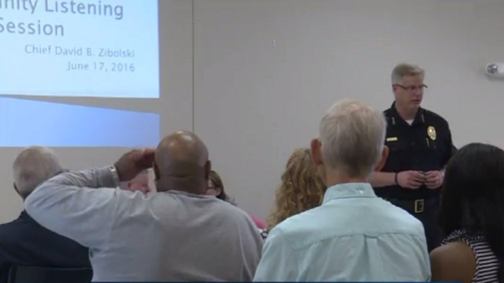 Beloit police, community discuss trust at listening session