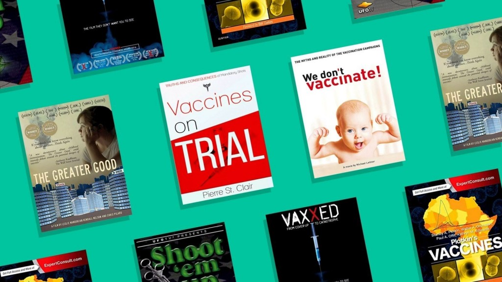 Anti-vaccination conspiracy theories thrive on Amazon