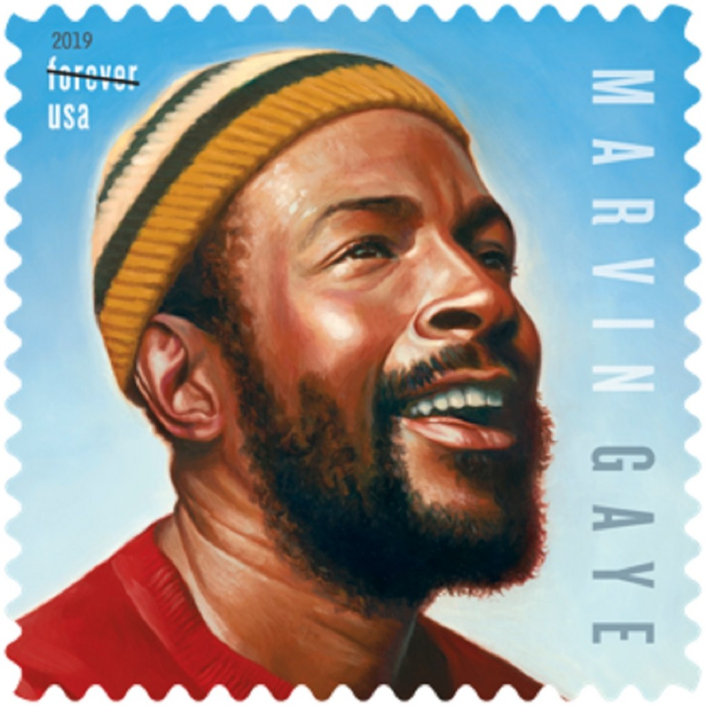 Marvin Gaye to debut on US postal stamps