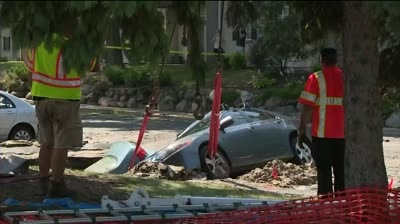 Residents evacuated for sinkhole won't be able to return before Friday
