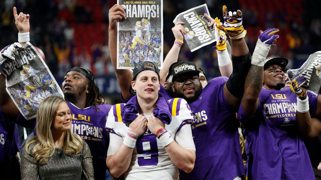 LSU, Ohio State, Clemson and Oklahoma in playoffs