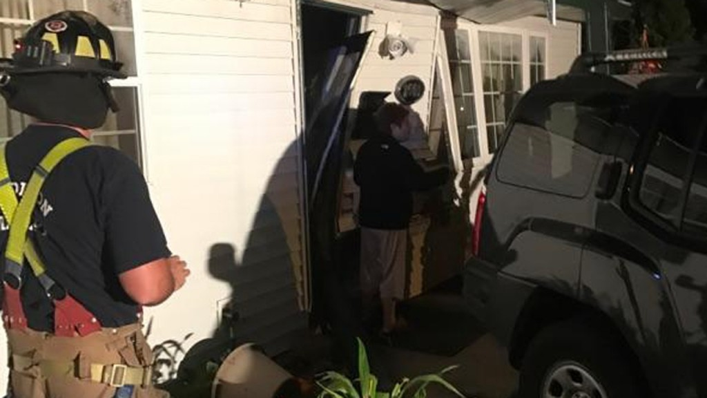 PHOTOS: House struck by car twice in 3 years