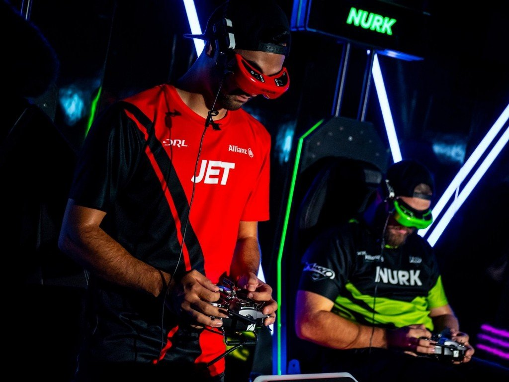 Drone racing pilots battle it out for $100,000 prize
