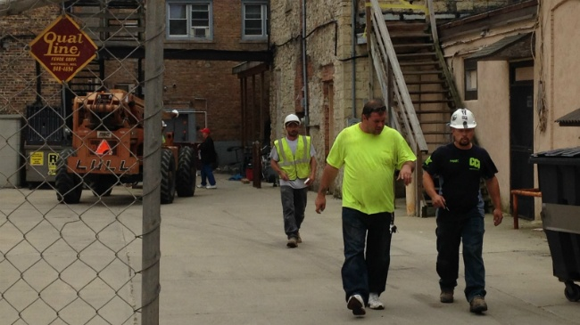 PHOTOS: Beloit building wall collapses