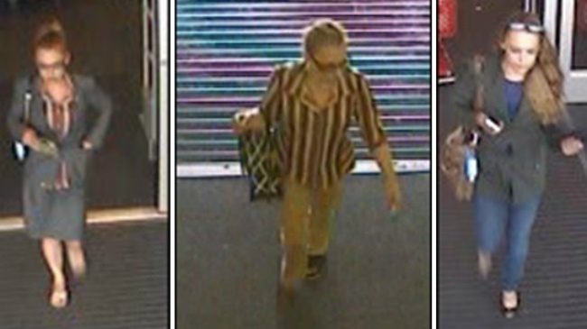 Police seek to ID woman in connection with credit card thefts