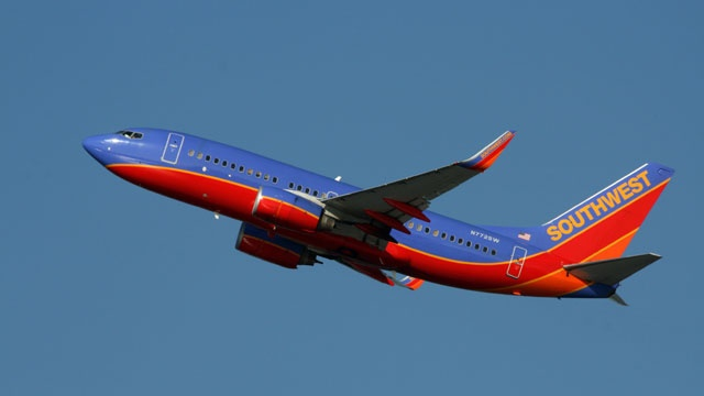 Southwest plane makes emergency landing after reported engine fire