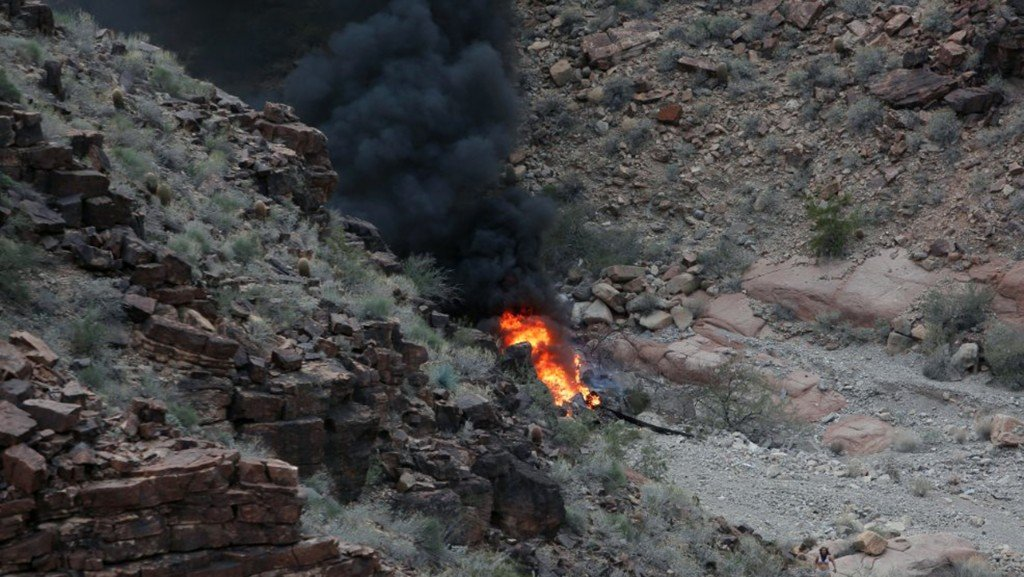 Grand Canyon helicopter crash victims named