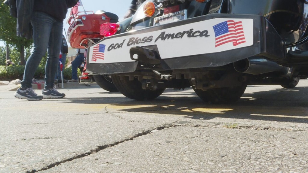 Patriot tour returns to Beaver Dam after 110-day journey