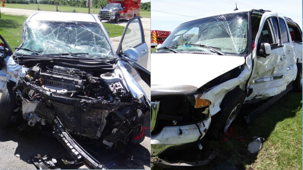 1 killed, 3 injured in T-bone crash in Dodge County, officials say