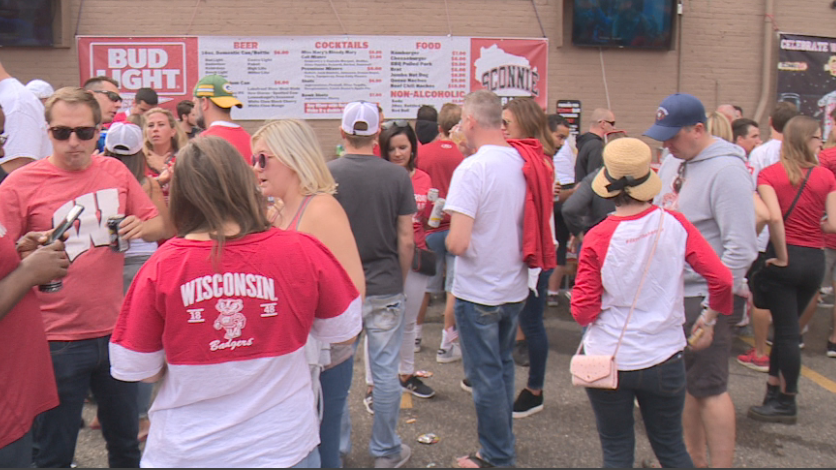 Downtown bars and businesses taking advantage of front-loaded home football schedule