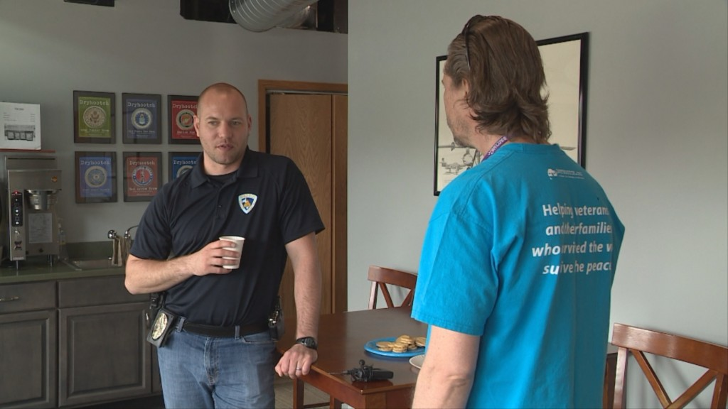 MPD program helps officers connect with veterans