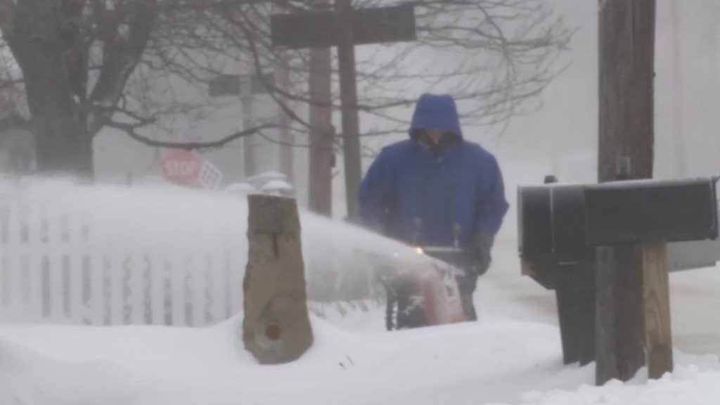 Ridiculously cold temps in the Northeast break records