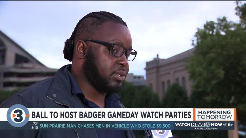 Ball to host Badger game day watch parties
