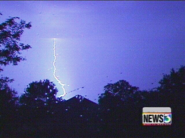 Boy struck by lightning is out of hospital
