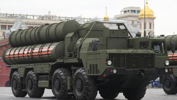 Russian S-400 missile-system equipment arrives in Turkey