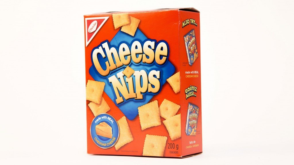 Some boxes of Cheese Nips are being recalled