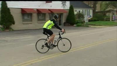 As bicyclists return to roads, authorities hold bike safety event