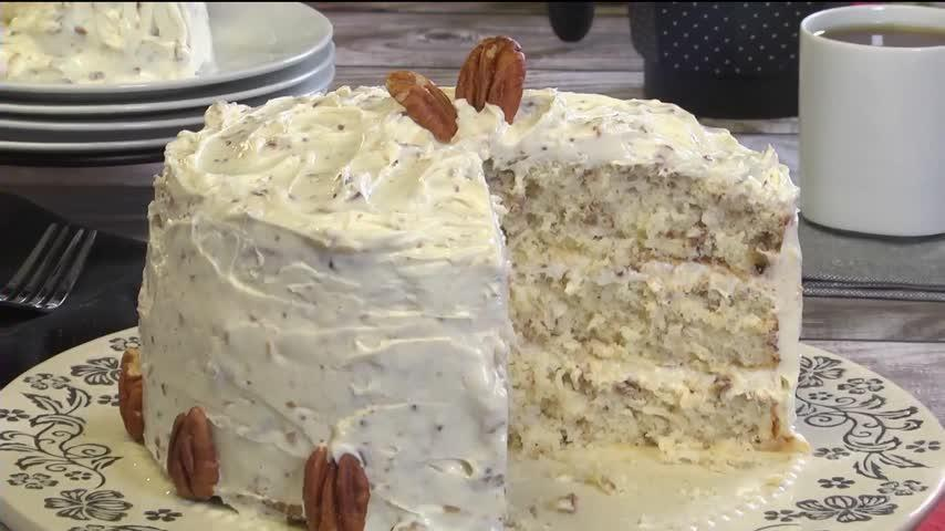 Mr. Food: Italian Cream Cake