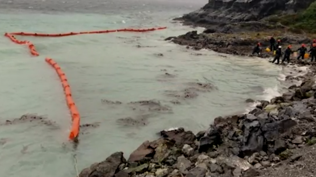 40,000 liters of oil spilled near Chile