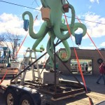 PHOTOS: Iconic Octopus Car Wash sign comes down