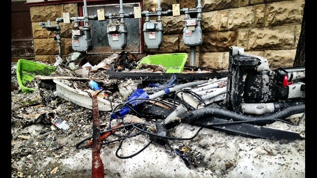 Madison apartment fire displaces 7 residents