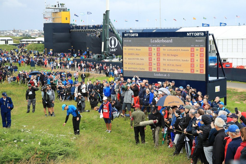 Rory McIlroy, David Duval suffer horror holes at The Open