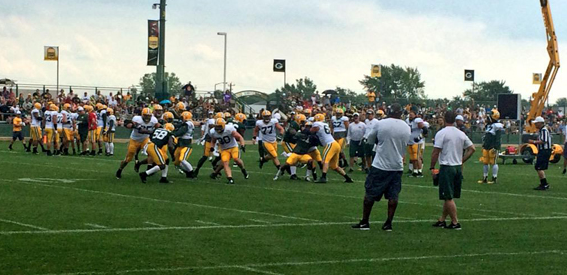 Training camp report No. 17: Tuesday, Sept. 1, 2015