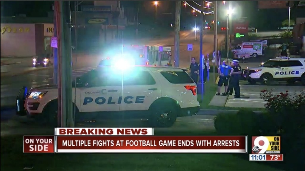 Multiple fights force early end to Ohio football game
