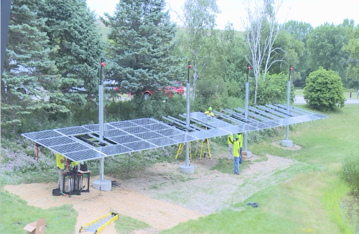 Madison begins installing solar electric systems city wide