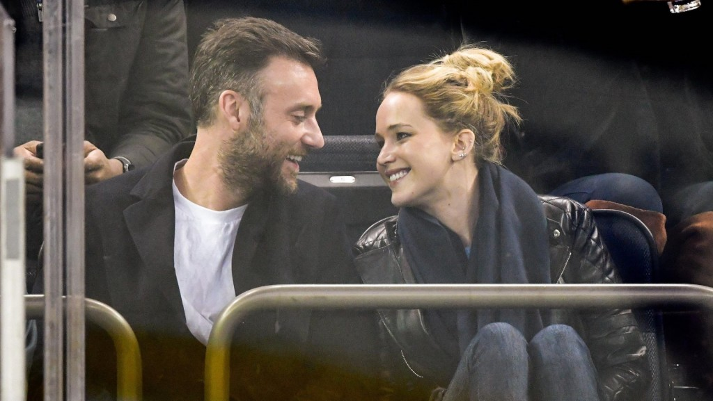 Jennifer Lawrence and fiancé spark marriage speculation