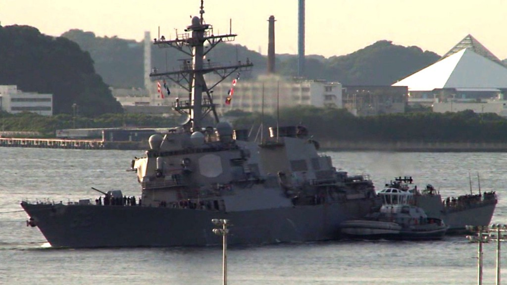 Charges expected to be dropped in USS Fitzgerald collision