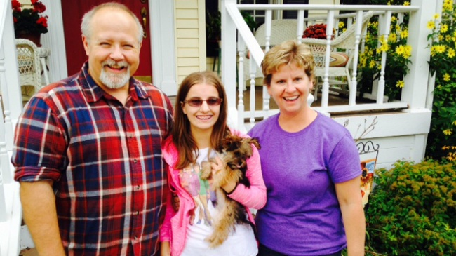 Green County organization buys family new dog after pit bull attack