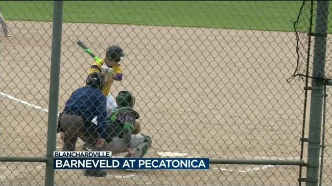 No. 1 Pecatonica rolls to 12-4 win over Barneveld