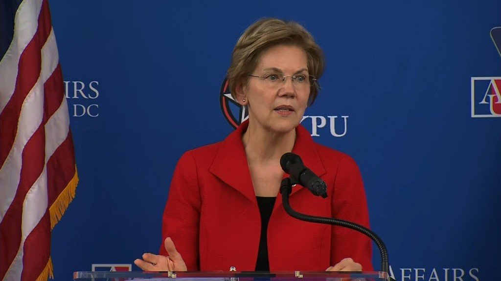 Elizabeth Warren takes on race issue in commencement speech