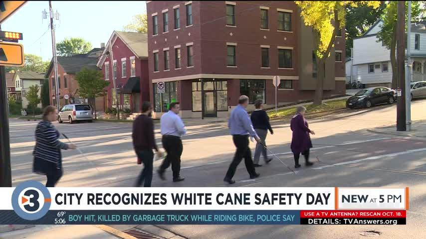 City recognizes White Cane Safety Day