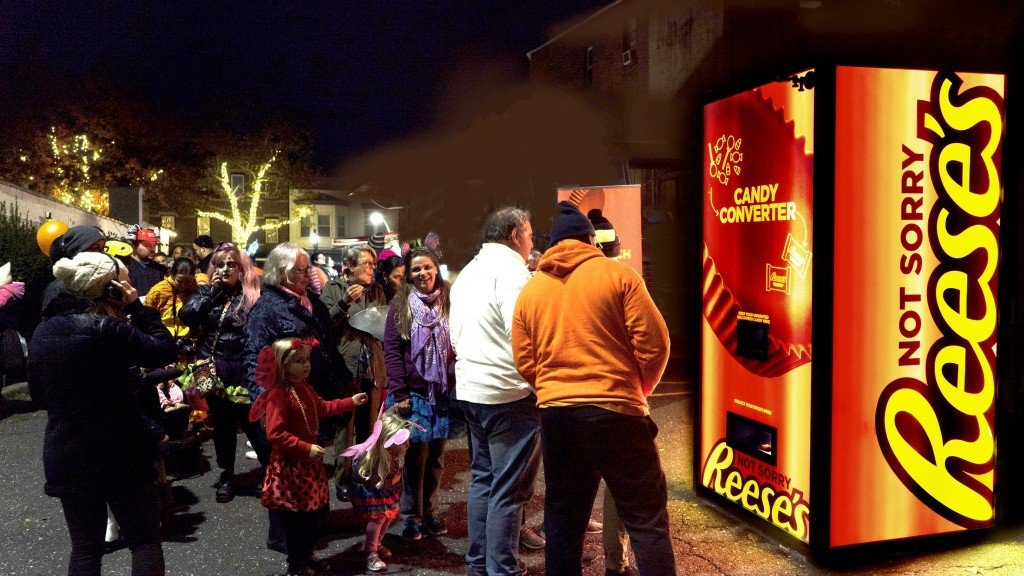 Reese's created a machine to swap out the Halloween treats you hate