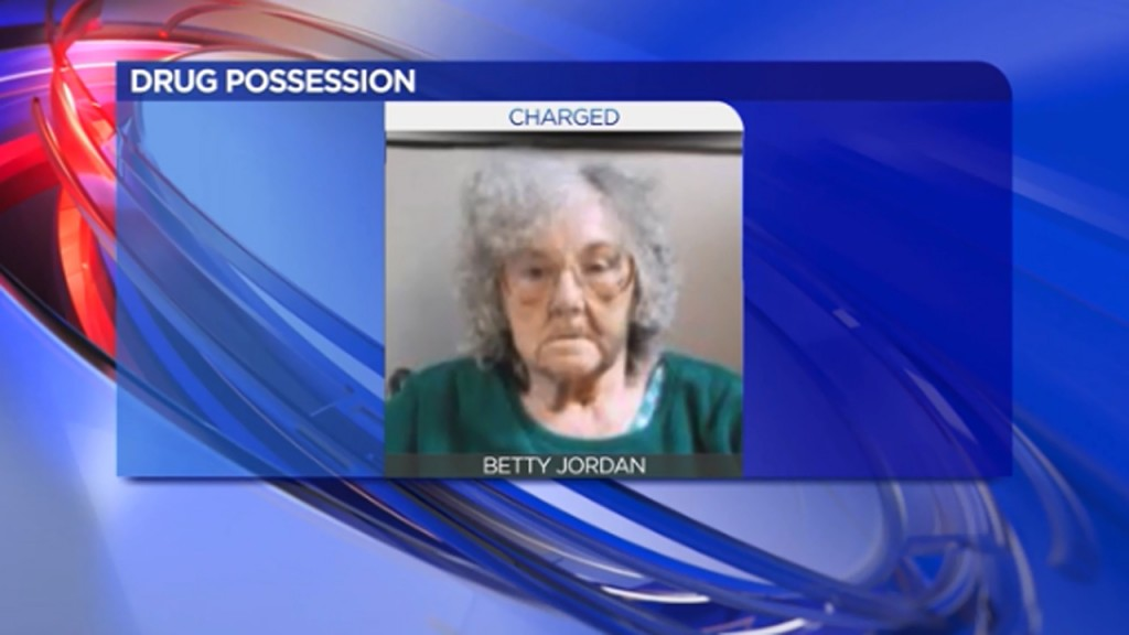 Elderly woman busted for alleged drug dealings