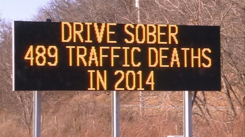 'Death Total' signs remind drivers to be safe