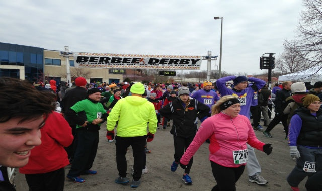 Runners brave cold in annual charity 10k
