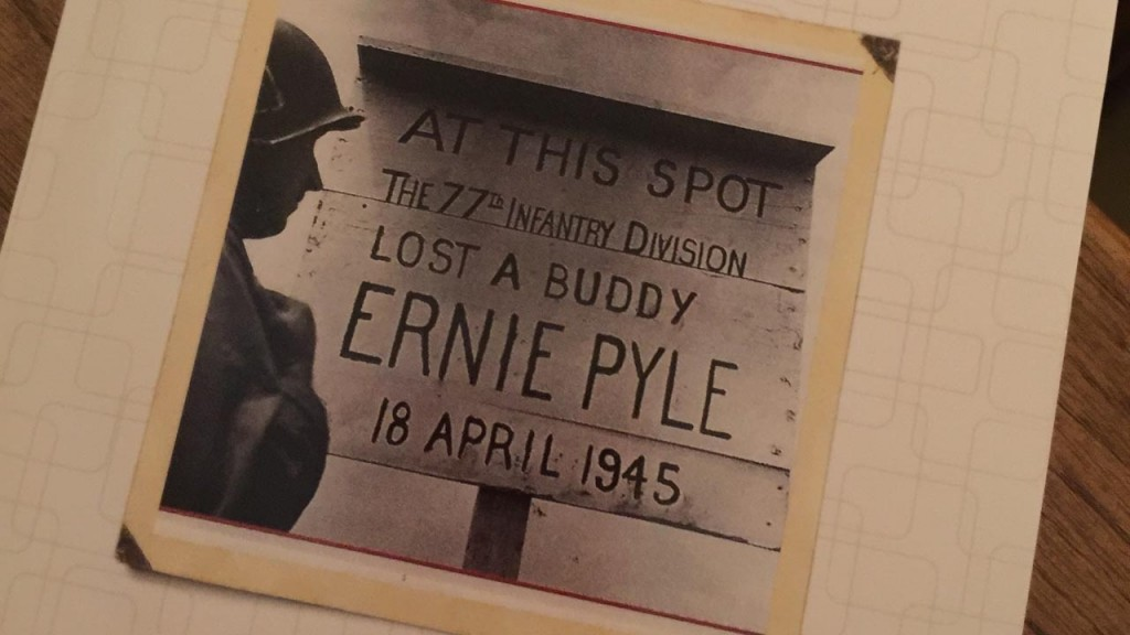 What really happened to the legendary Ernie Pyle?