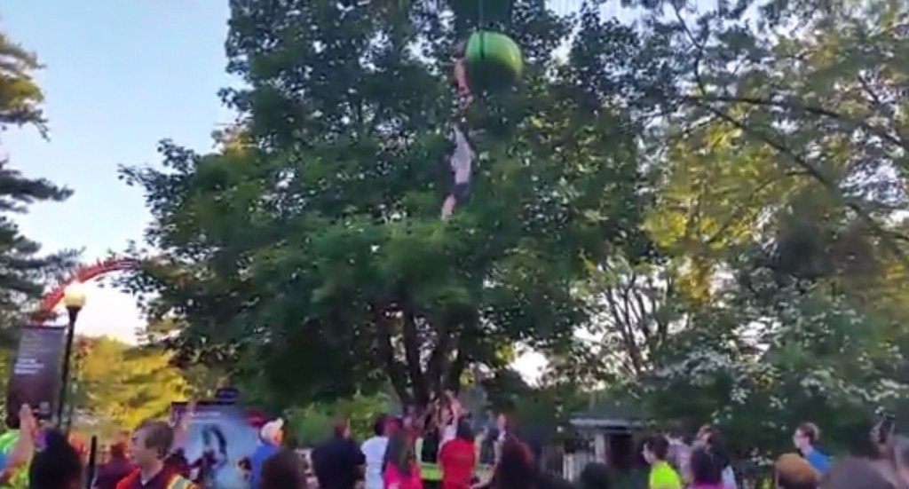 Teen hurt after dropping from ride at Six Flags