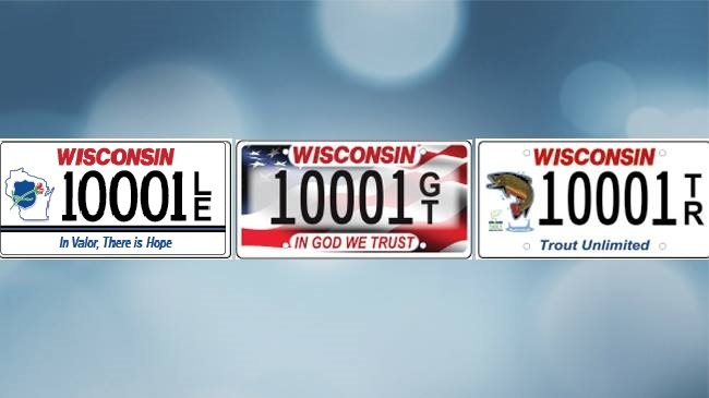 WisDOT issues new Law Enforcement Memorial Plate