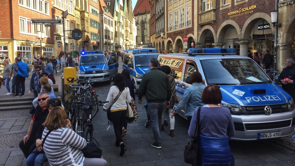 3 dead after delivery vehicle hits crowd in Germany