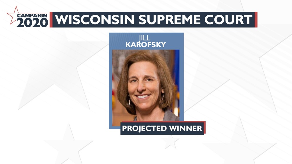 4 13 20 Campaign 2020 Spring Projected Winner Supreme Court Jill Karofsky