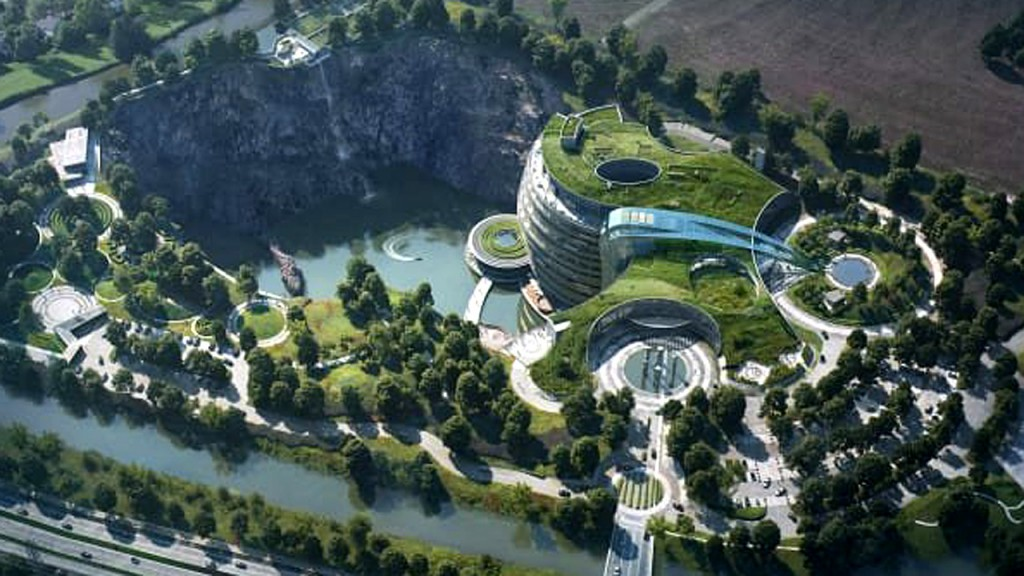 InterContinental Shanghai Wonderland to open in an abandoned quarry