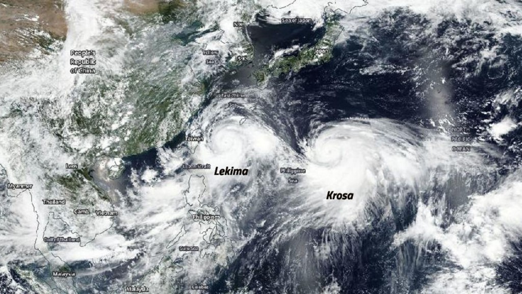 China issues alert as Typhoon Lekima approaches east coast